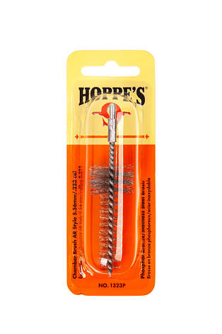 Щетинный бронзовый ёрш для чистки патронника Hoppe's 5,56мм к.223, фото 2