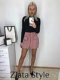 Юбка женская на шнуровке, фото 2
