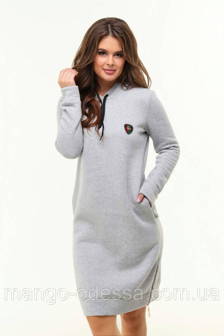 Платье -туника женская спортивного фасона