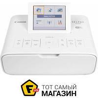 Принтер портативный Selphy CP-1300 White (2235C011) a6 (10.5 x 14.8 см) - термосублимационная цветная печать
