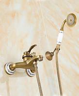 Смеситель для ванны Art Design B23 deco Бронза