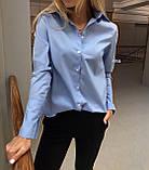 Рубашка женская классическая, фото 3
