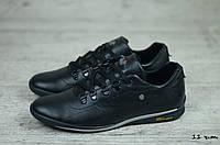 Мужские кожаные кроссовки Gest (Реплика) (Код: 11 ч.т.  ) ► Размеры [40,41,42,43,44,45], фото 1