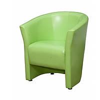 """Кресло для офиса, кафе, зоны ожидания """"Лотос Клуб 1"""" салатовый"""