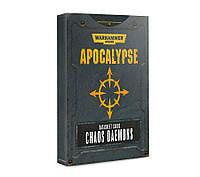 Apocalypse Datasheet Cards: Chaos Daemons 60220115004