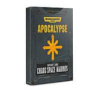 Apocalypse Datasheet Cards: Chaos Space... 60220102021