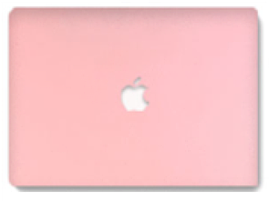 "Чехол-накладка DK-Case Plastic Matt Ice Cream Series для Apple MacBook Pro 13"" (2008 - 2012) (pink)"