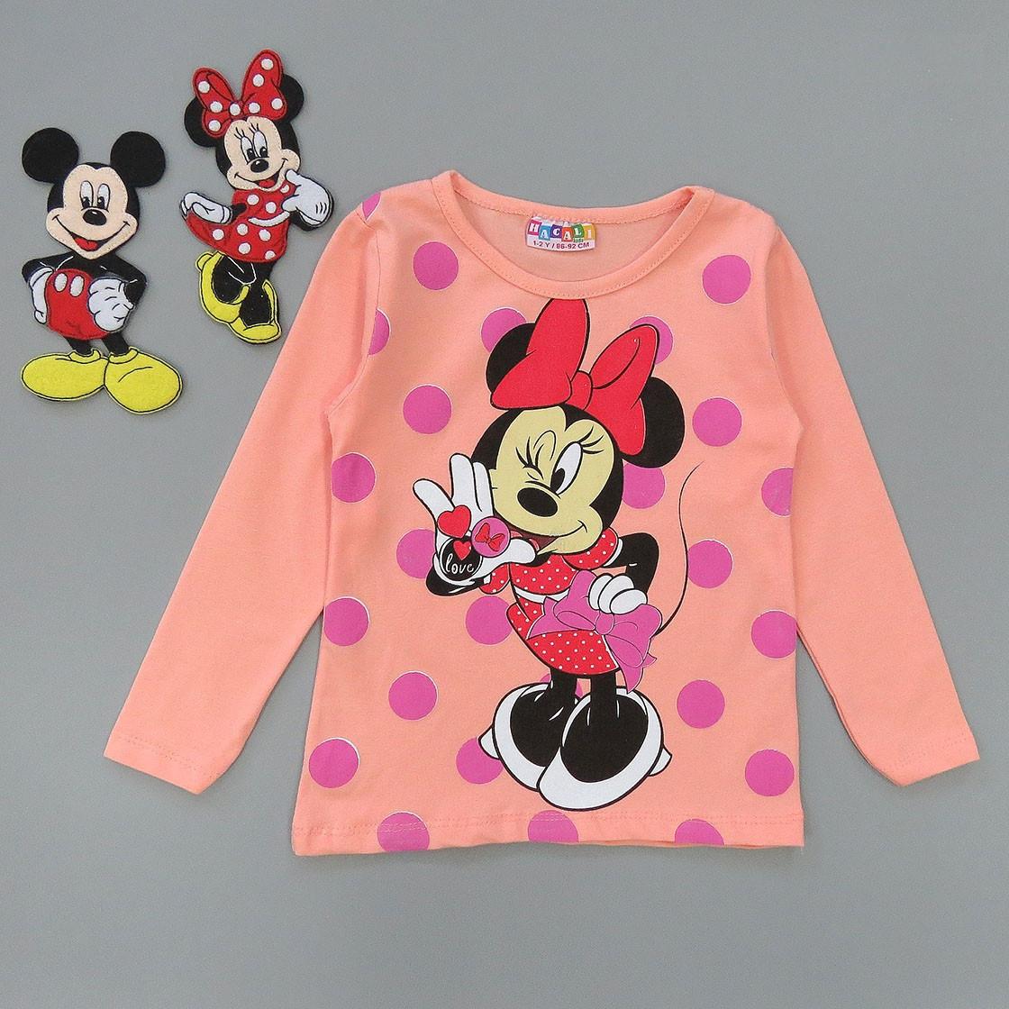 Лонгслив Minnie Mouse для девочки.