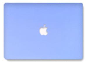 "Чехол Plastic Matt Ice Cream Series Apple MacBook Pro 13"" (2008 - 2012) (violet)"