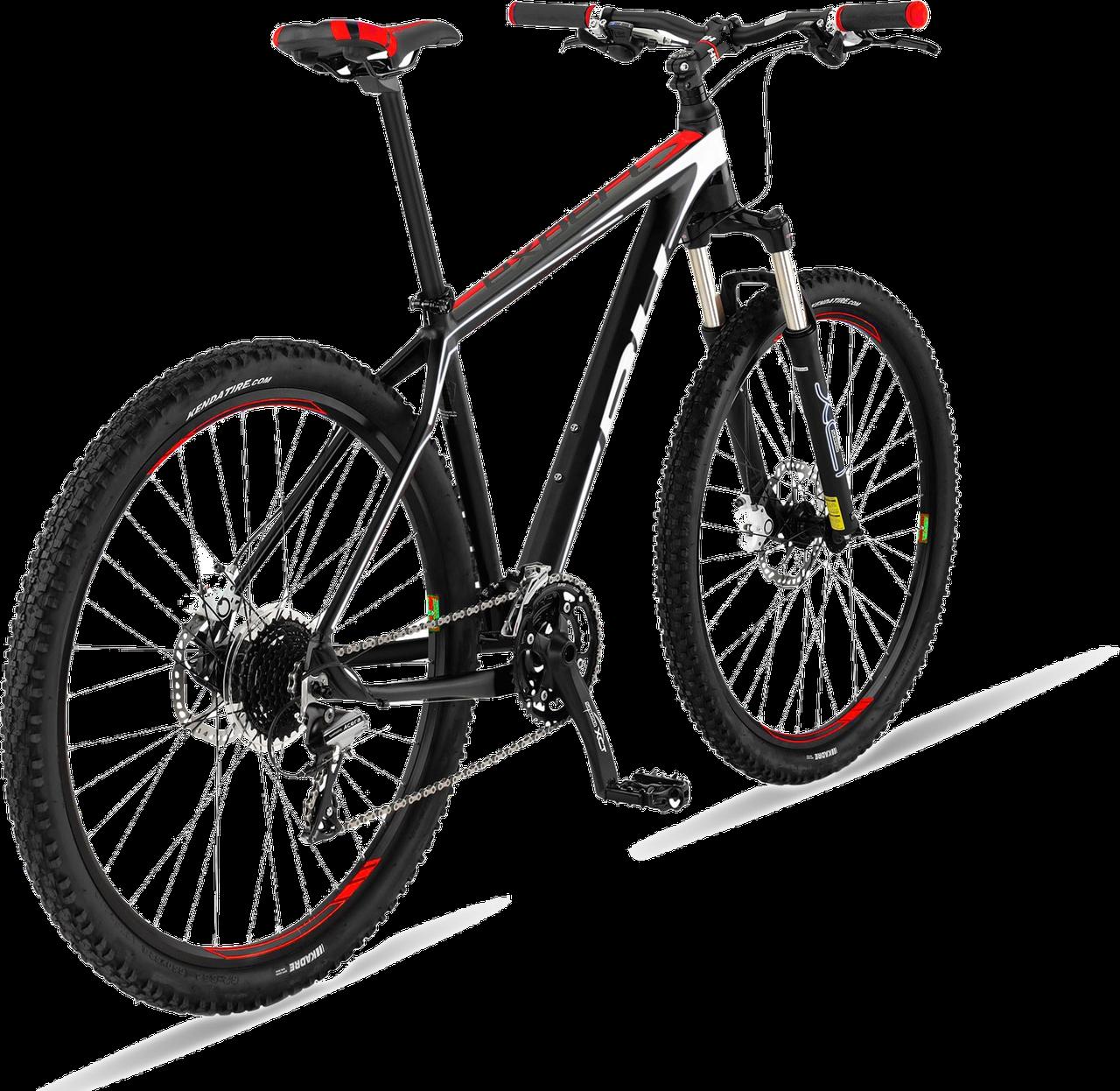 """Велосипед горный BH - Expert 27,5"""" XCM SH Acera 27V 2017 Black/Red, р.L (BH A2477.N60-L)(Размер M)"""