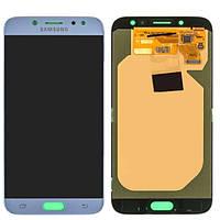 Дисплей Samsung Galaxy J7 2017 SM-J730F Original 100% (Service Pack) Silver