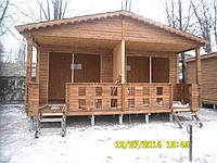 Сборный дом деревянный каркасно-щитовой