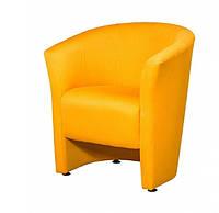 """Кресло для офиса, кафе, зоны ожидания """"Лотос Клуб 1"""" желтый"""