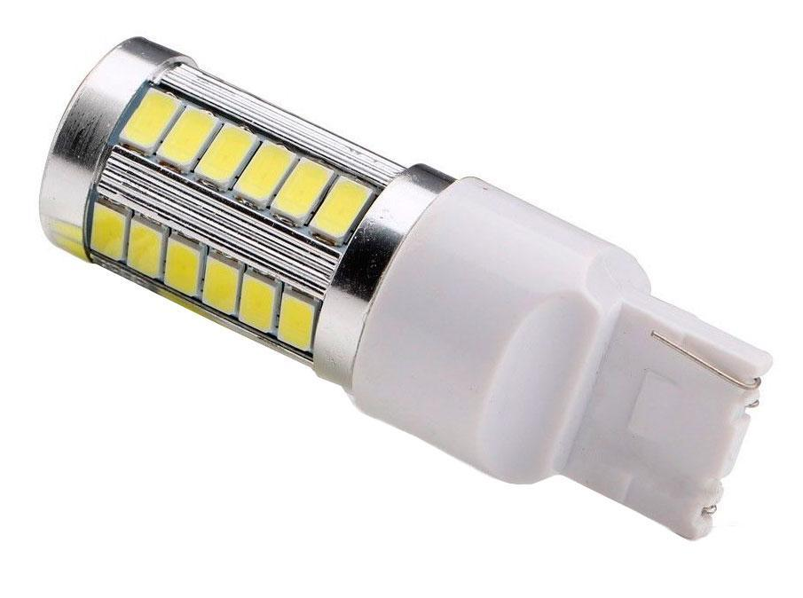 Светодиодная лампа T20 33 SMD 5630 5730 + Lens желтая