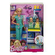 Лялька Barbie лікар педіатр Careers Baby Doctor Playset, фото 6