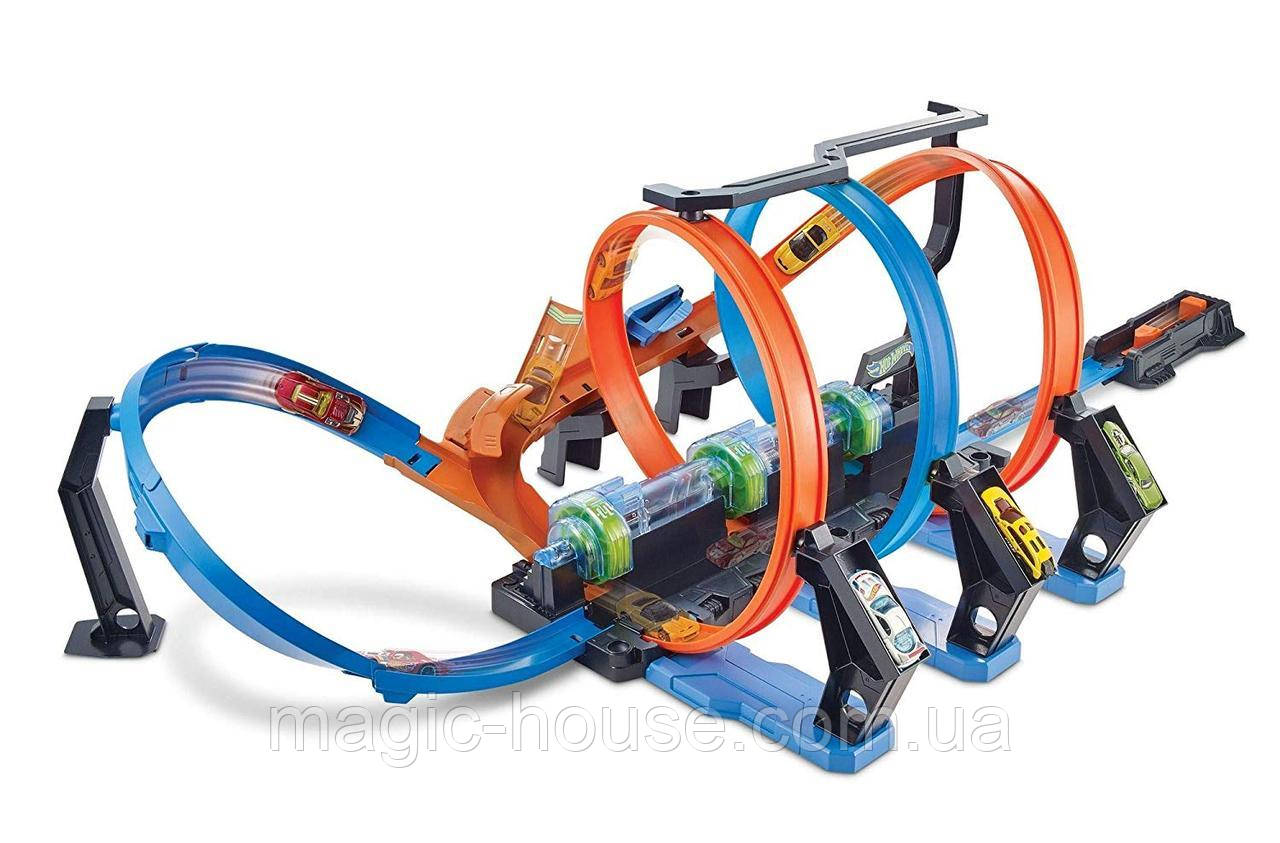 Трек Хот ВилсCorkscrew Crash Track SetHot Wheels Оригинал от Mattel