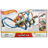 Трек Хот ВилсCorkscrew Crash Track SetHot Wheels Оригинал от Mattel, фото 3