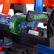 Трек Хот ВилсCorkscrew Crash Track SetHot Wheels Оригинал от Mattel, фото 7