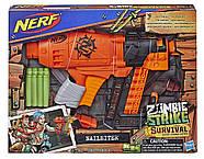 Бластер НерфNailbiter Zombie StrikeNERF, фото 2