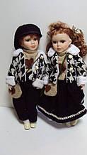 Пара порцелянових ляльок Закохані висота 42 см