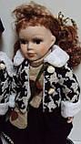 Пара фарфоровых кукол Влюбленные высота 42 см, фото 2