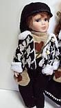 Пара фарфоровых кукол Влюбленные высота 42 см, фото 3