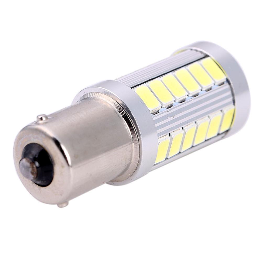Светодиодная лампа 1-контактная 33 SMD 5630 5730 8 Вт + Lens желтая