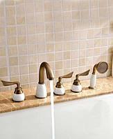 Смеситель для ванны Art Design Lili-5 Бронза