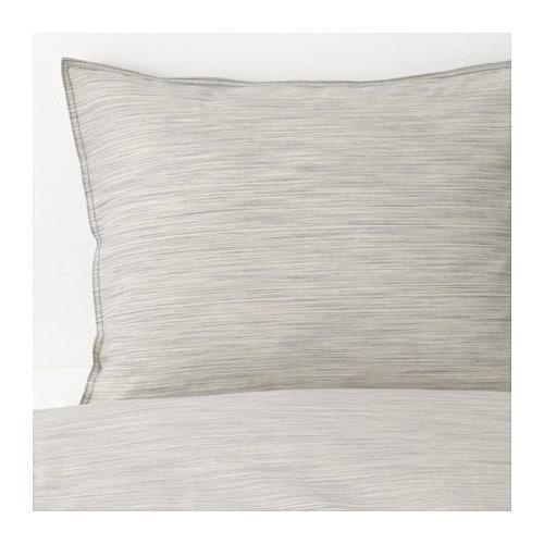 ИКЕА (IKEA) SKOGSALM, 703.374.90, Комплект постельного белья, бежевый, 200x200/50x60 см - ТОП ПРОДАЖ