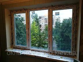 Окна трехстворчатые ВДС 500 /1800x1350/, фото 2