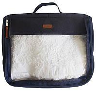 Большая дорожная сумка для вещей Organize P001 синий SKL34-176147