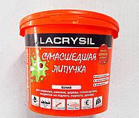 Клей монтажный универсальный Lacrysil Сумасшедшая липучка 3 кг. ведро