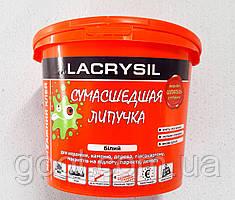 Клей монтажный универсальный Lacrysil Сумасшедшая липучка 6 кг. ведро