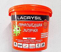 Клей монтажный универсальный Lacrysil Сумасшедшая липучка 12 кг. ведро