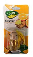 Освежитель ароматизатор воздуха Апельсин с имбирем Light Fresh 5мл, фото 1