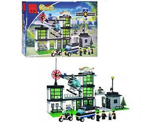 Конструктор Brick 110 Полицейский участок 430 деталей - 154485