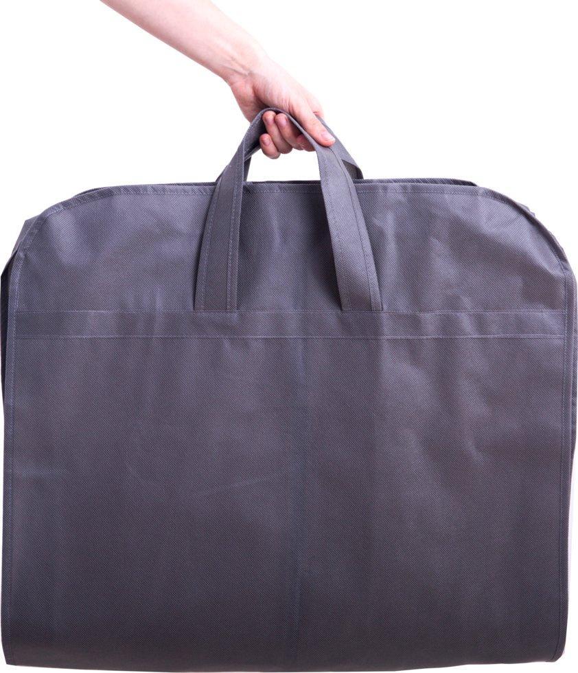 Кофр для одежды с ручками 110х10 см Organize Hch110-10 серый - 176326
