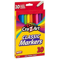 Фломастеры Cra-Z-Art Classic Markers 10 шт HFD010487A01