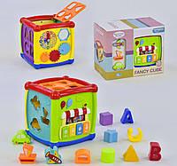 Куб Логический НЕ 0520, звуковые и световые эффекты, мелодии - 155410