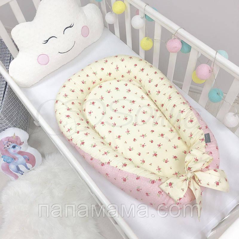 Кокон Позиционер, Baby Design Premium Прованс