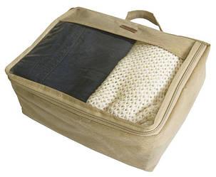 Средняя дорожная сумка для вещей Organize P002 бежевый R176399