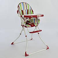 Стульчик для кормления детей Joy 8860 красный - 154545