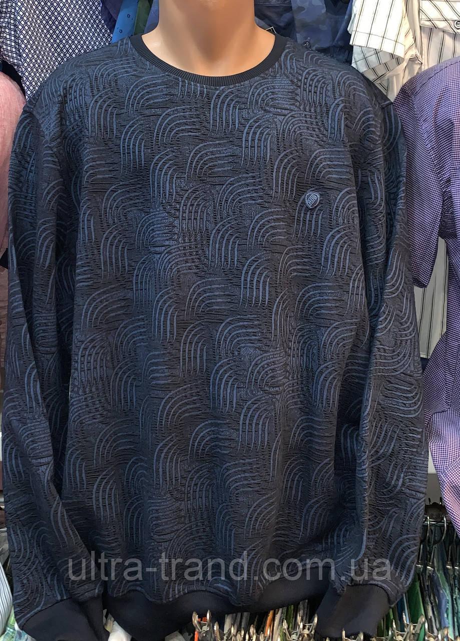 Мужские турецкие толстовки свитера свитшоты регланы больших размеров
