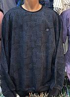 Мужские турецкие толстовки свитера свитшоты регланы больших размеров, фото 1