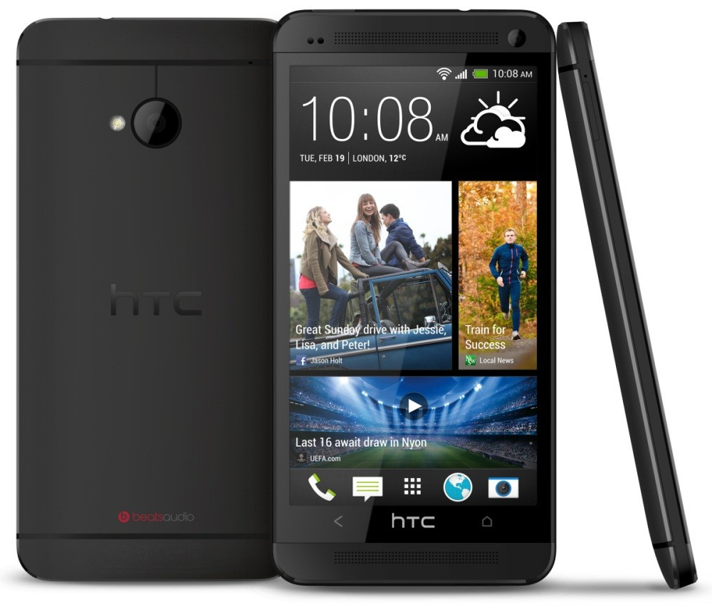 Смартфон HTC One m7 (801е) 32Gb Black Full HD 4.7 1920*1080 Quad Core 1.7 ГГц 2300 MaЧ