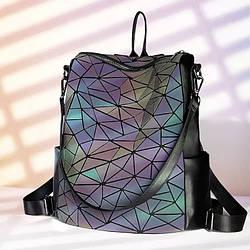 Молодежный женский прямоугольный рюкзак – сумка Бао Бао Хамелеон Каталея – Bling, Bao Bao Issey Miyake 3028