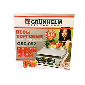 Весы торговые Grunhelm GSC-052 (50 кг)