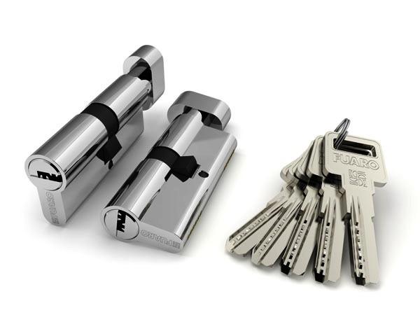 Циліндр Fuaro Z600 ключ-WC 60 мм (в асортименті)