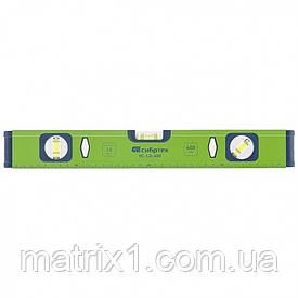 Уровень алюминиевый УС-1, 0-400, фрезерованный, 3 глазка, 400 мм Сибртех