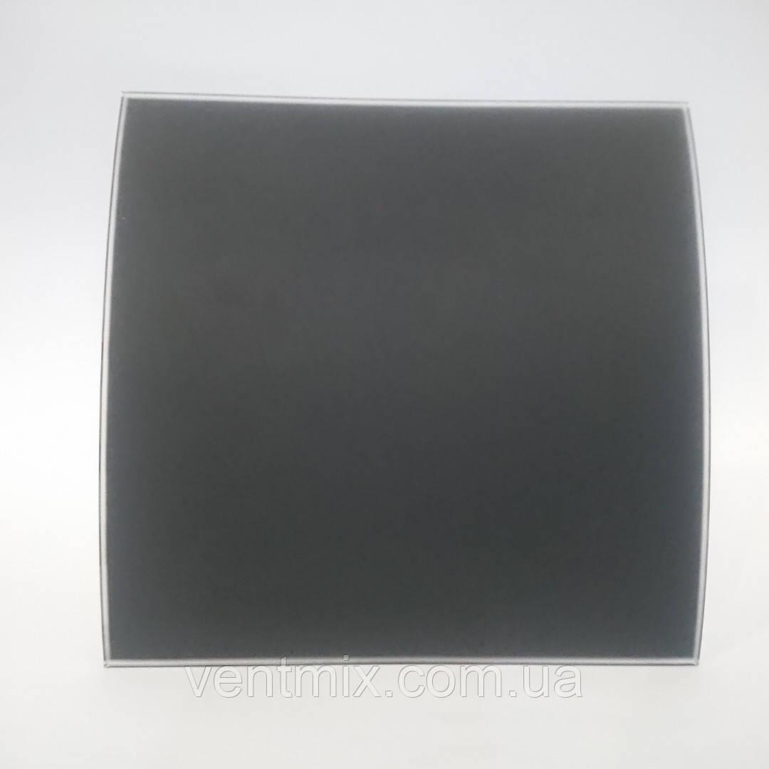 Вентилятор  вытяжной  осевой  KWS 100 черное матовое стекло (Awenta)